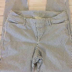 Old Navy Pixie Pants Navy/White  Size 4